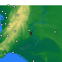 Nearby Forecast Locations - Murray Bridge - Mapa