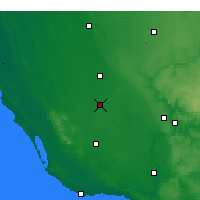 Nearby Forecast Locations - Penola - Mapa