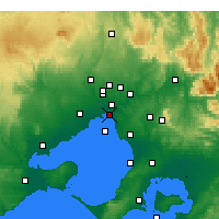 Nearby Forecast Locations - St Kilda (Melbourne) - Mapa