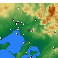 Nearby Forecast Locations - Scoresby - Mapa
