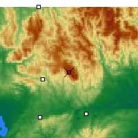 Nearby Forecast Locations - Mount Baw Baw - Mapa