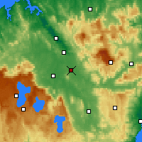 Nearby Forecast Locations - Powranna - Mapa
