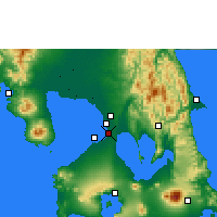 Nearby Forecast Locations - Manila - Mapa