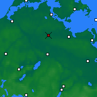 Nearby Forecast Locations - Grimmen - Mapa