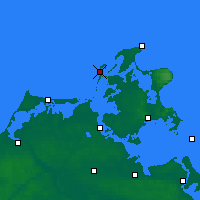 Nearby Forecast Locations - Hiddensee - Mapa