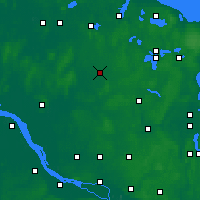 Nearby Forecast Locations - Neumünster - Mapa