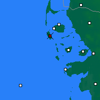 Nearby Forecast Locations - Amrum - Mapa