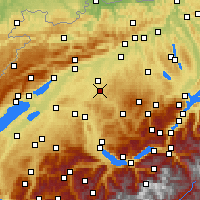 Nearby Forecast Locations - Burgdorf - Mapa