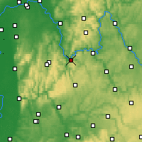 Nearby Forecast Locations - Miltenberg - Mapa