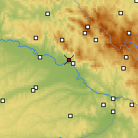 Nearby Forecast Locations - Metten - Mapa