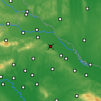Nearby Forecast Locations - Koprivnica - Mapa