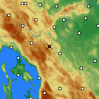 Nearby Forecast Locations - Vrbovsko - Mapa