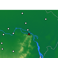Nearby Forecast Locations - Sahebganj - Mapa