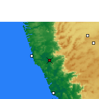 Nearby Forecast Locations - Sawantwadi - Mapa