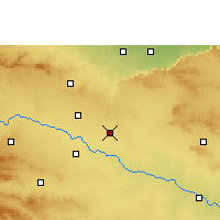 Nearby Forecast Locations - Vaijapur - Mapa