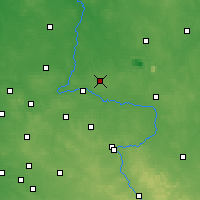 Nearby Forecast Locations - Pajęczno - Mapa