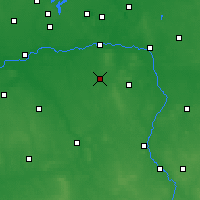 Nearby Forecast Locations - Tuliszków - Mapa