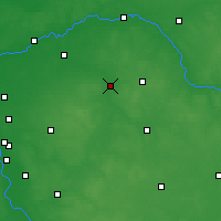 Nearby Forecast Locations - Węgrów - Mapa