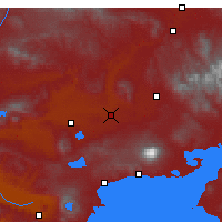 Nearby Forecast Locations - Malazgirt - Mapa