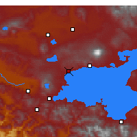 Nearby Forecast Locations - Ahlat - Mapa