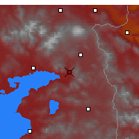 Nearby Forecast Locations - Muradiye - Mapa
