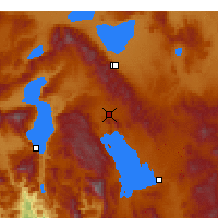 Nearby Forecast Locations - Şarkikaraağaç - Mapa