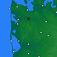 Nearby Forecast Locations - Holstebro - Mapa