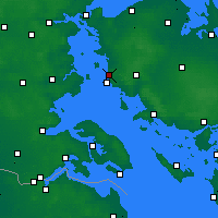 Nearby Forecast Locations - Assens - Mapa