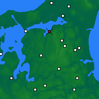 Nearby Forecast Locations - Nibe - Mapa