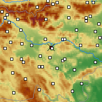 Nearby Forecast Locations - Litija - Mapa