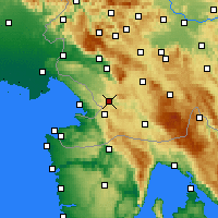Nearby Forecast Locations - Divača - Mapa