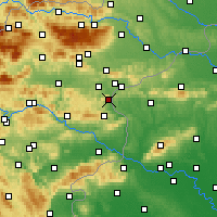Nearby Forecast Locations - Podčetrtek - Mapa