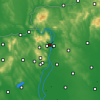 Nearby Forecast Locations - Szentendre - Mapa