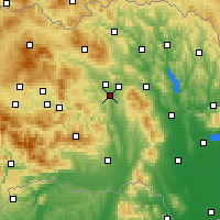 Nearby Forecast Locations - Prešov - Mapa