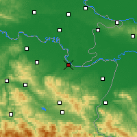 Nearby Forecast Locations - Brčko - Mapa