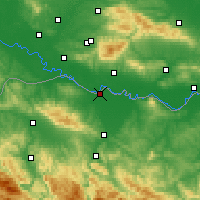 Nearby Forecast Locations - Gradiška - Mapa