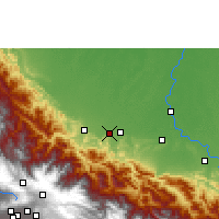 Nearby Forecast Locations - Shinahota - Mapa