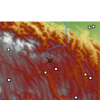 Nearby Forecast Locations - Comarapa - Mapa