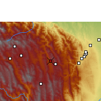 Nearby Forecast Locations - Mairana - Mapa