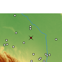 Nearby Forecast Locations - Saavedra - Mapa