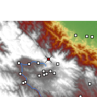 Nearby Forecast Locations - Colomi - Mapa