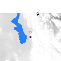 Nearby Forecast Locations - Santiago de Huari - Mapa