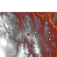 Nearby Forecast Locations - Tarabuco - Mapa