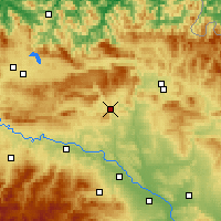 Nearby Forecast Locations - Estella-Lizarra - Mapa