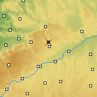 Nearby Forecast Locations - Heidenheim an der Brenz - Mapa
