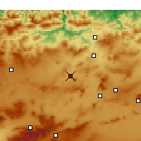 Nearby Forecast Locations - Telerghma - Mapa