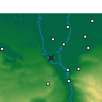 Nearby Forecast Locations - Ashmoun - Mapa
