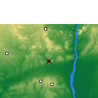 Nearby Forecast Locations - Auchi - Mapa
