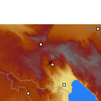 Nearby Forecast Locations - Katumba - Mapa