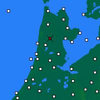 Nearby Forecast Locations - Heerhugowaard - Mapa